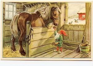 Bildresultat för tomte häst